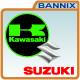 Kawasaki - Suzuki