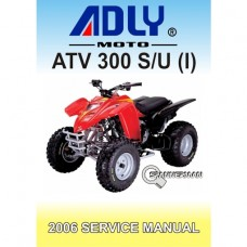 Adly - ATV 300 SU(I) - 2006-2007 Service/Workshop Manual