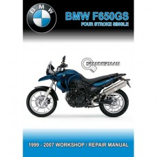 BMW - F 650 GS - 1999-2007 (4 Stroke Single) Workshop Manual