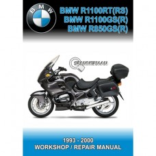 BMW - R1100 R850 (RT-RS-GS-R) - 1993-2000 - Workshop Manual