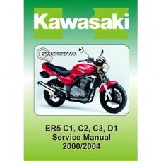 Kawasaki - ER 500 - 2000-2004 - Service/Workshop Manual