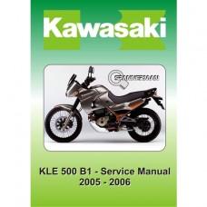 Kawasaki - KLE 500 B1 - 2005-2006 Service/Workshop Manual