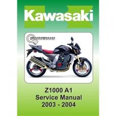 Kawasaki - Z 1000 A1- 2003-2004 Service/Workshop Manual