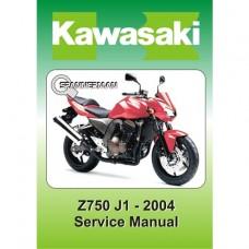 Kawasaki - Z 750 J1 - 2004-2005 Service/Workshop Manual