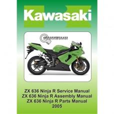 Kawasaki - ZX 636 R C1 2005-2006 Service/Workshop Manual