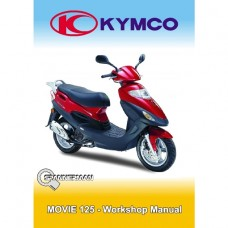 Kymco - Movie 125cc Service/Workshop Manual