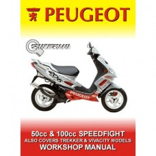 Peugeot - Speedfight 50cc and 100cc - 1996-2005 All Models