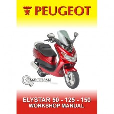Peugeot - Elystar 50cc, 125cc and 150cc Service/Workshop Manual