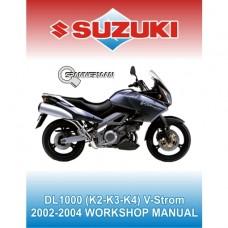 Suzuki - DL 1000 - V Strom - 2002-2004 Service/Workshop Manual