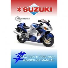 Suzuki - GSX 1300 RY and RX HAYABUSA - 1999-2003 Workshop Manual