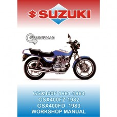 Suzuki - GSX 400F 1981-1984 Service/Workshop Manual