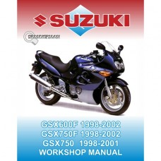 Suzuki - GSX 600F and GSX 750F 1998-2002 Service/Workshop Manual