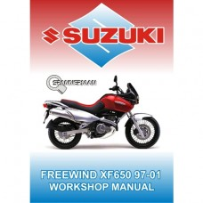 Suzuki - XF 650 Freewind 1997-2001 Service/Workshop Manual