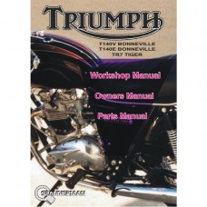 Triumph - T140V-T140E-TR7V Service/Workshop/Owners/Parts Manual