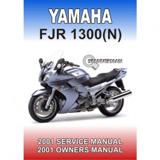 Yamaha - FJR 1300 (N) - 2001-2002 Service/Workshop/Owners Manual