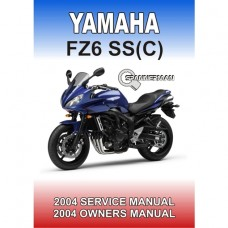Yamaha - FZ 6-SS - FZ6-SSC - 2004-2005 Workshop/Owners Manual