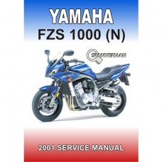 Yamaha - FZS 1000(N) Fazer - 2001-2002 Service/Workshop Manual