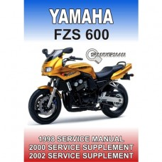 Yamaha - FZS 600 Fazer - 1998-2002 Service/Workshop Manual
