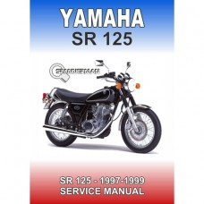 Yamaha - SR 125 - 1997-1999 Service/Workshop Manual