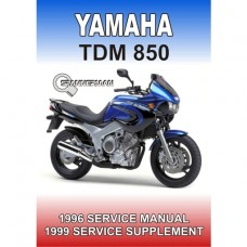 Yamaha - TDM 850 - 1996-1999 Service/Workshop Manual