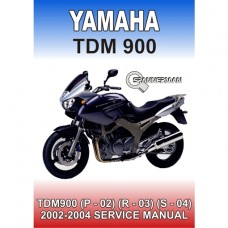 Yamaha - TDM 900 (P) - 2002-2003 Service/Workshop Manual