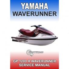Yamaha - GP 1200R WaveRunner - 2000-2003 Service/Workshop Manual