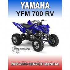 Yamaha - YFM 700 RV - Raptor - 2005-2006 Service/Worksop Manual