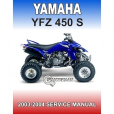 Yamaha - YFZ 450S - 2004-2005 Service/Workshop Manual