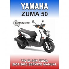 Yamaha - YW 50AP ZUMA - 2001-2003 Service/Workshop Manual