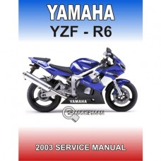 Yamaha - YZF R6 - 2003-2004 Service/Workshop Manual